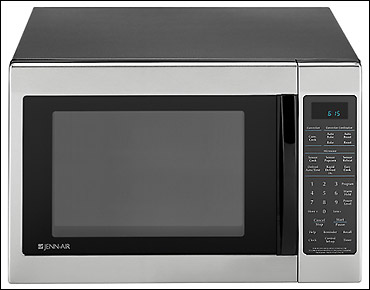 PITCH: PRODUCT: A microwave that isn't afraid of a little metal.